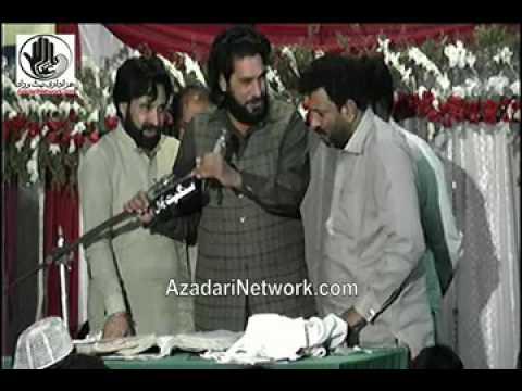 Zakir Ijaz Jhandvi (9 Rajab 2017 Jashan Qasr e Abu Talib Rawalpindi)