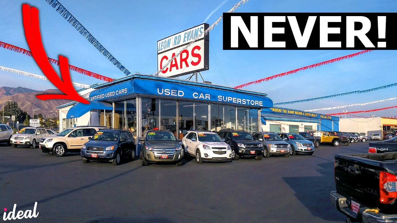 Here S Why You Should Never Buy A Car From A Used Car Dealer Youtube