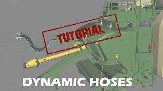 bm-modding Tutorial: Dynamic Hoses for FS in maya