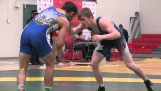 2015 York Open FS57kg Alex Moher (Brock) vs Chris Waltner (Lakehead)