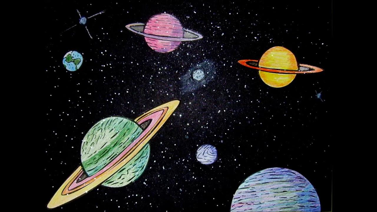 star space drawings - 873×645