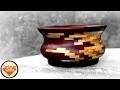 Reclaimed (pallet wood/mahogany) Segmented Bowl