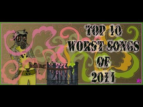 The Top Ten Worst Hit Songs of 2011