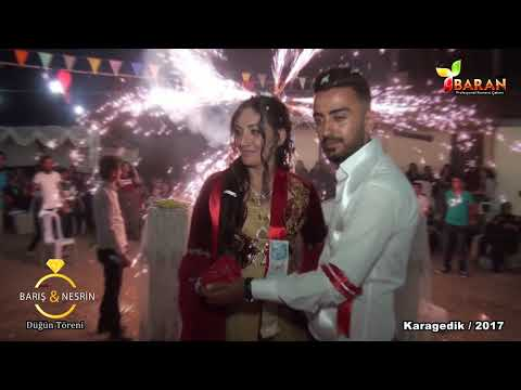 Barış & Nesrin Düğün Töreni Klip Karagedik / 2017