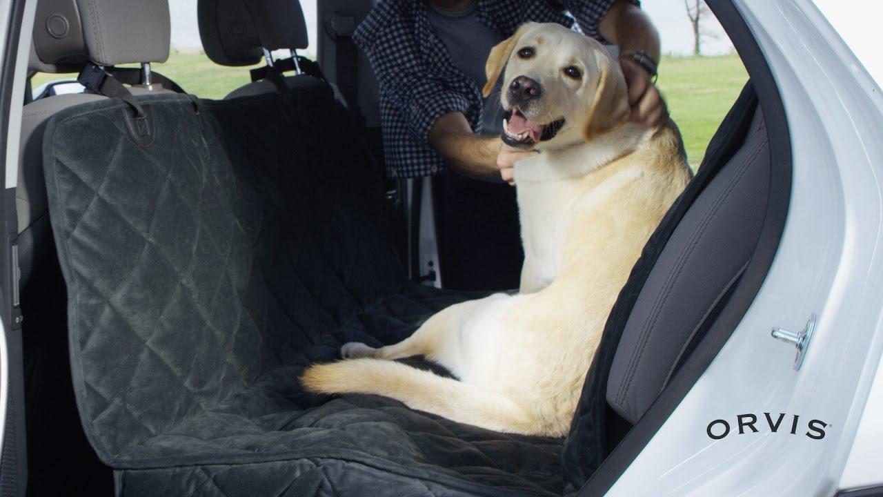 bench style mat pin nonslip cushion dog back hammock car pet cover rear seat waterproof portable