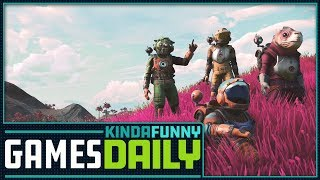 The Redemption Story of No Man's Sky - Kinda Funny Games Daily 07.26.18