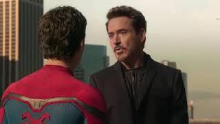 Старк забирает костюм Паркера