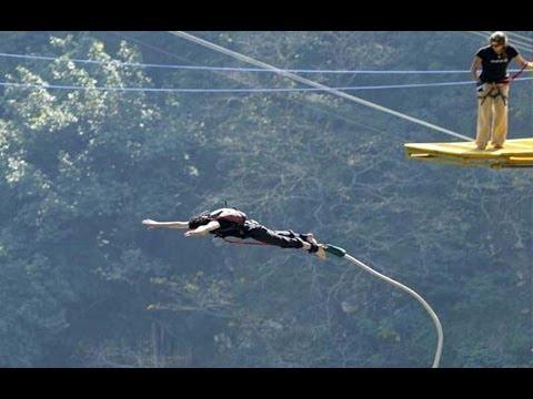 Bungee Jumping in Rishikesh India - Jumpin Heights - Bungee Jump - Rishikesh Tourism