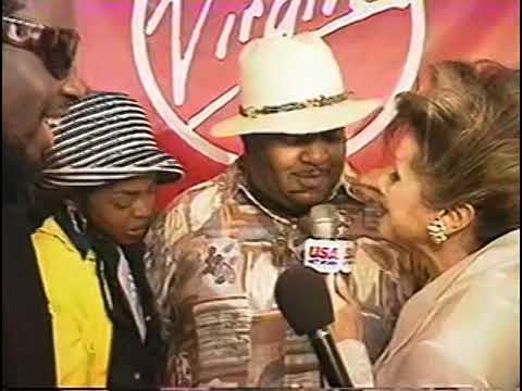 Rhonda Shear interviews the Fugees
