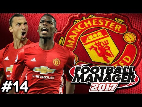 Football Manager 2017 | Manchester United Career Mode | #14 | BIGGEST GAME OF THE SEASON