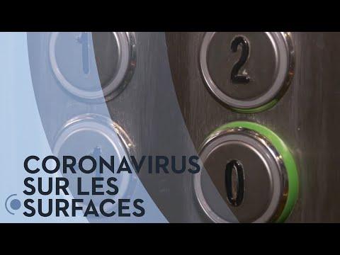 Check-up: La Durée De Vie Du Coronavirus Sur Les Surfaces