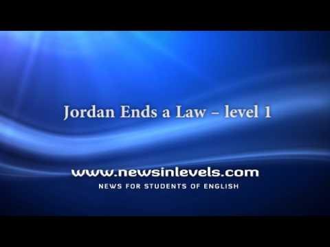 Jordan Ends a Law – level 1