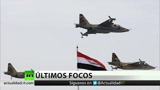 Irak realiza ataques aéreos contra posiciones del EI en Siria
