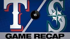 Rangers put up 15 in big win vs. M's: 4/27/19