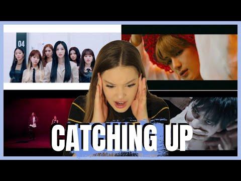 KPOP CATCH UP: THE BOYZ, PENTAGON, KARD, CHERRY BULLET MV REACTION
