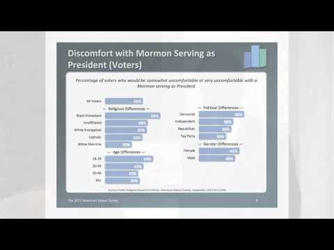 Dr. Robert P. Jones on Mitt Romney and the Mormon Question
