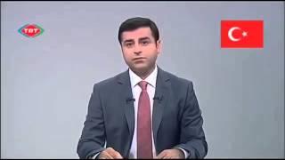 Cumhurbaşkanı Adayı Selahattin Demirtaş'ın TRT'de
