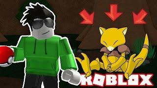 PEGANDO ABRA! -Roblox Pokemon tijolo bronze