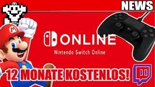 Switch Online - 12  Monate kostenlos - Dank Twitch / PS5 Controller? - NerdNews 406