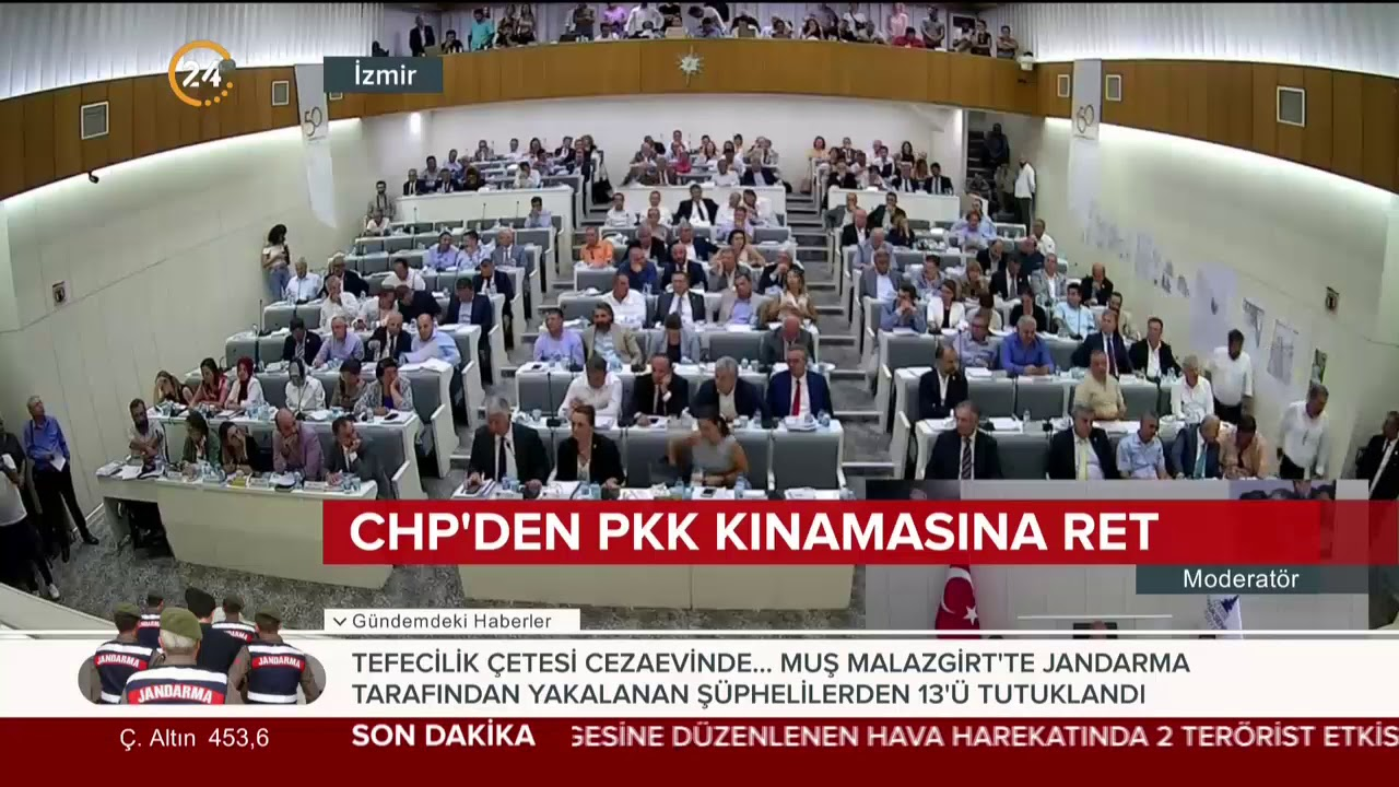 AK Parti'nin PKK'yı kınama önergesini CHP'liler reddetti