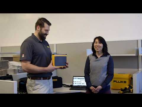 Electronic measurement equipment and multimeters - Part 3:Fluke 43b from YouTube · Duration:  6 minutes 17 seconds