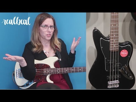 Checking Out 3 Squire Short Scale Basses