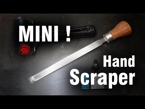 Make Mini Hand Scraper