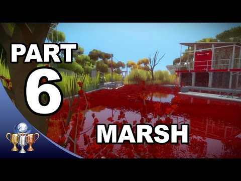 The Witness Walkthrough #6 -  Swamp Marsh Tetris Puzzle Solutions (Activating Marsh Laser)