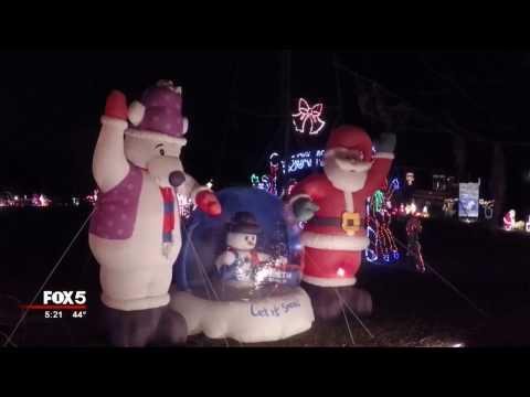 Fayette County Christmas Light Display