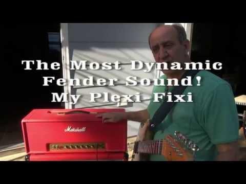 Marshall Plexi Head Tube Guitar amp EL34 to KT66 Update Demo Killer Sound