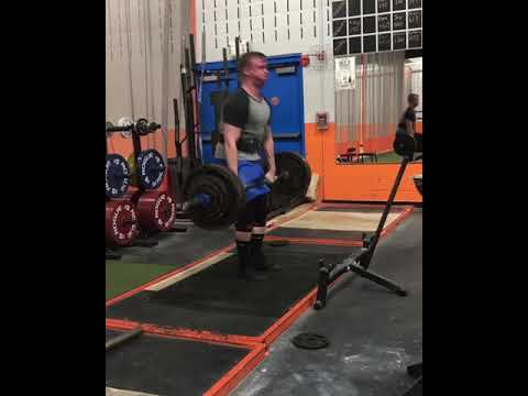 Deadlift- 390lbs For 8 Reps!! PR!!