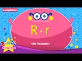 Kids Vocabulary Compilation - Words Starting With R, R - Learn English For Kids video