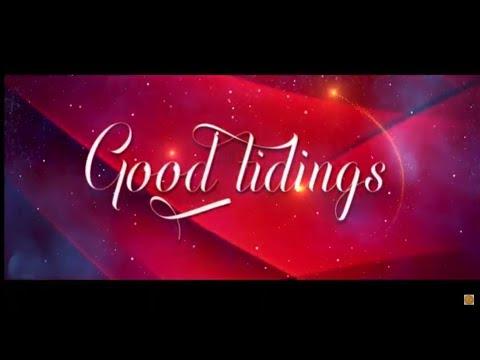 Let God's Spirit Calm You, as Good Tidings Awaits you!