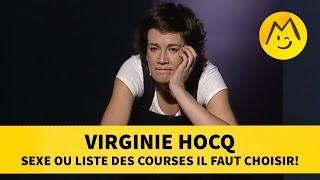 Virginie Hocq : sexe ou liste des courses il faut choisir!