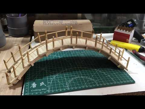 How to Make a beautiful bridge from recycle Popsicle Stick