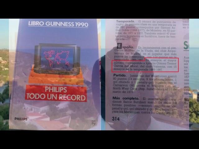 HISTORIAS EN PRIMERA PERSONA - GÓMEZ TRÉNOR - RC VALENCIA - 54 ANIVERSARIO | Magazine Rugbyspain.com