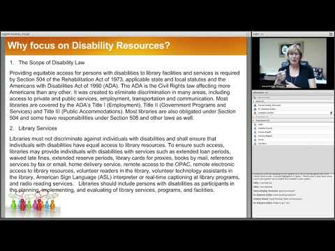 05/23/17 DigiRef Academy Disability Resources  Empowering ALL People with Information