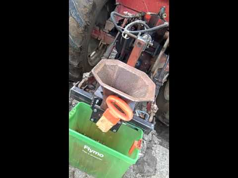 home made pto wood chipper