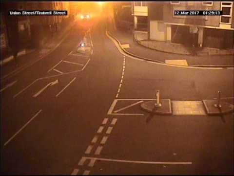 Trowbridge murder CCTV