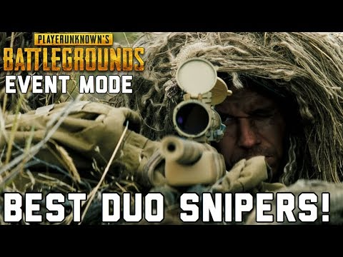 🔴KAR98 EVENT MODE | BEST DUO SNIPERS | THIS GAMEMODE IS FUN! | PUBG XBOX ONE S GAMEPLAY