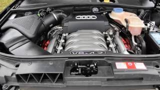 Audi A6 allroad 4.2 V8 quattro acceleration and sound
