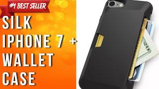 silk iphone 7 plus wallet case vault slim wallet for iphone 7 plus protective grip card case