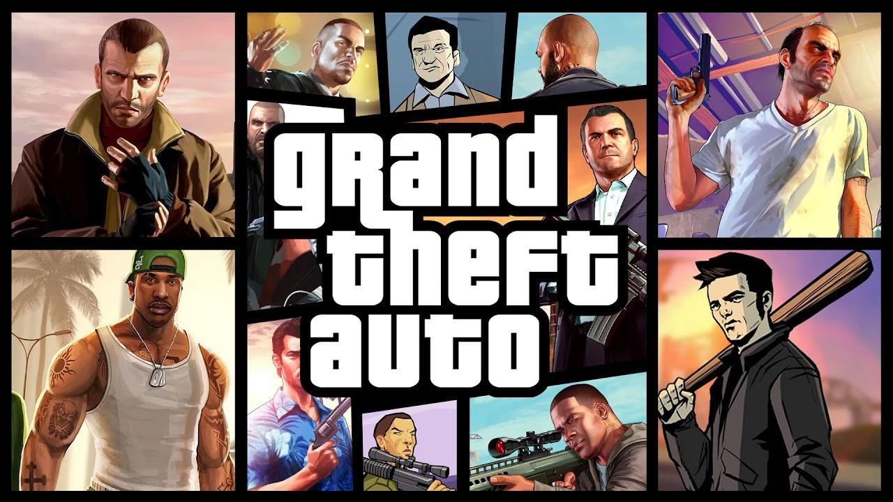 Grand Theft Auto | Ultimate Theme Mashup - YouTube