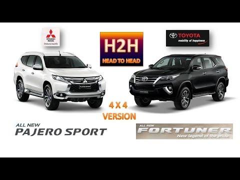 H2H #27 All New Mitsubishi Pajero Sport vs All New Toyota Fortuner