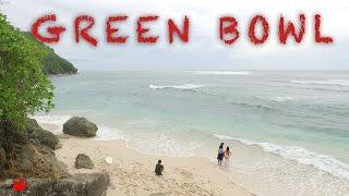 [Bali] Green Bowl beach / take a walk around Bali 2016 : trip guide video