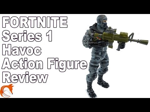 Fortnite Havoc SKIN Series 1 Action Figure Review