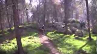 Avi & Zohar Practicing Lines in the Gilboa 3 19 11