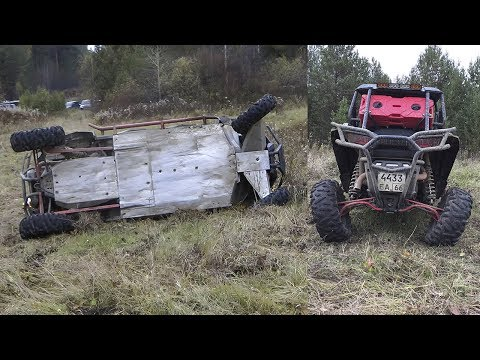 Краш тест Polaris RZR XP 4 1000 EPS !