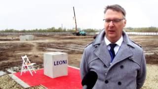 На Прикарпатті розпочали будівництво другого заваду Leoni