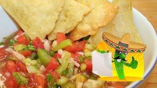 Мексиканская кухня от ChambacuTV. СОУС САЛЬСА-МЕКСИКАНО и классический рецепт сальсы